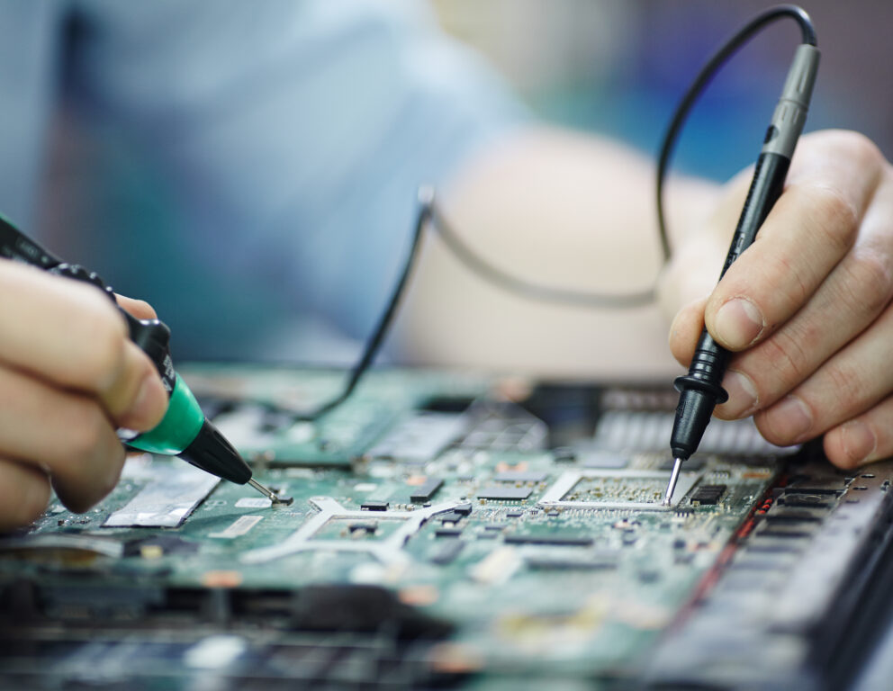 Checking Current in Laptop Circuit Board